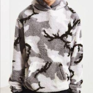 NWT super soft camo hoodie